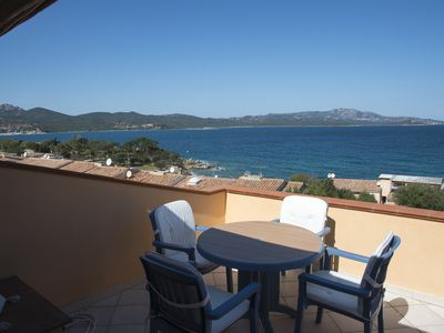 Photo for Elegant apartment overlooking the sea, Porto Rotondo.