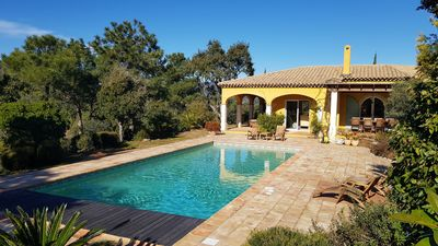 Photo for Superb Villa in the hills, close to the sea. Ideal holiday home