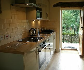 Kitchen with a great view