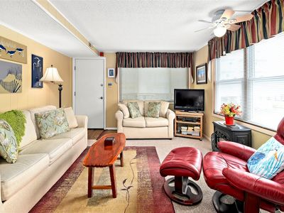 Photo for Adorable ocean block condo just right for a small family
