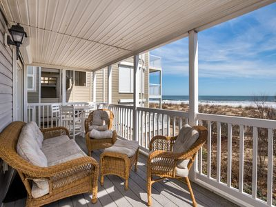 Photo for Updated Oceanfront with Gorgeous Views & Direct Beach Access!
