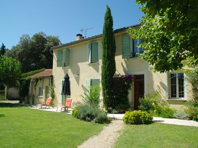Photo for BEAUTIFUL TRADITIONAL PROVENCAL IN COUNTRYSIDE WITH LARGE POOL