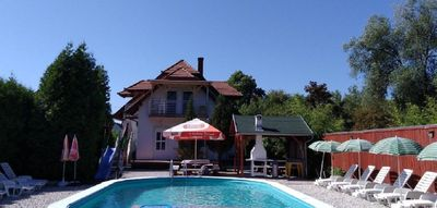 Photo for Holiday apartment Balatonmáriafürdõ for 1 - 8 persons with 3 bedrooms - Holiday house