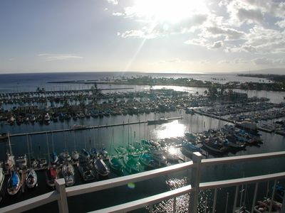 Photo for ILIKAI MARINA OCEANFRONT 2-ONE BEDROOM AND VIEW