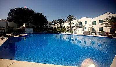 Photo for NEWLY DECORATED 2019, lovely ground floor apartment in Menorca ,  with WiFi