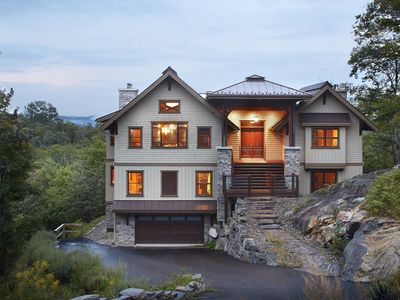 Photo for Contemporary and elegant 6 bedroom chalet in the Foret Blanche community