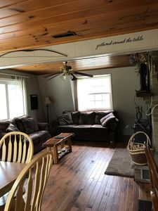 Photo for Great vacation home near Tippy Dam, in the Manistee National forest
