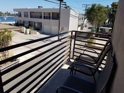 Private balcony with BBQ