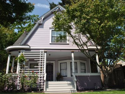 Photo for Walk to downtown or minutes from freeway! Beautiful Victorian Centrally Located!