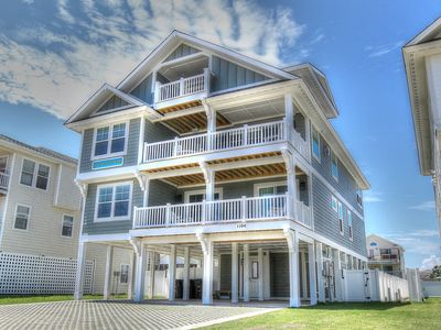 Photo for Doctor's Orders 7 Bedroom Semi-Oceanfront at Kitty Hawk Shores