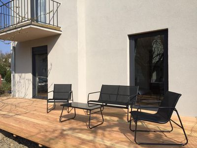 Photo for Modern apartment with terrace and garden - up to 6 persons
