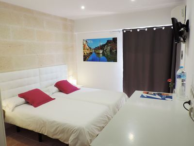 Photo for economy double room very close to the best beaches in Mallorca