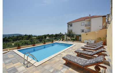 Photo for A gorgeous and spacious apartment on a mediterranean property(POOL included)