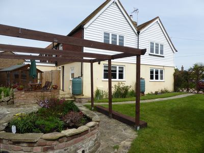 Photo for Close to beach 3 bed Grade 11 Listed Cottage in Pett Level near Hastings and Rye