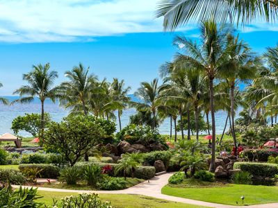 Photo for K B M Hawaii: Ocean Views, Family friendly 2 Bedroom, FREE car! Jun Specials From only $221!