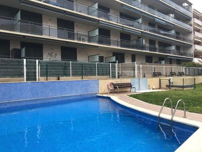 Photo for Las Arenas apartment in Cambrils with air conditioning, private parking, balcony & lift.