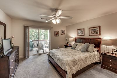 UPPER MASTER SUITE SHOWING BALCONY