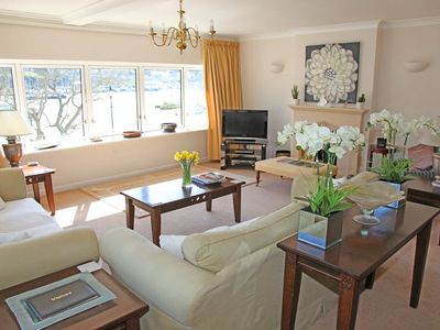 Photo for Riverside Apartment with 3 Ensuite Bedrooms and Private Parking