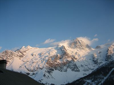 Photo for 2BR Apartment Vacation Rental in La Grave, Hautes Alpes