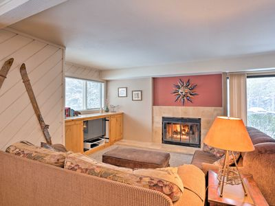 Photo for NEW! Condo w/Fireplace, 1.8Mi to Sun Valley Resort