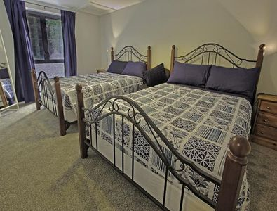 The Barn - Second Bedroom - two double beds