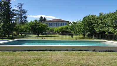 Photo for Provence / Vaucluse / Mont Ventoux. Authentic family house of the XIXth