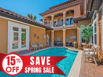 Photo for 15%OFF Now-5/25/19! Beautiful Home w/ Private Pool +FREE Golf Cart &VIP Perks