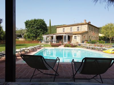Photo for La Quiete Villa with swimming pool in the heart of the Tuscan countryside
