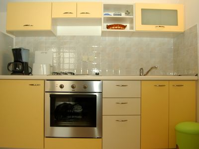 Photo for Studio apartment: double bed; sofa bed for one additional person; with a balcony; tiles; kitchen nic