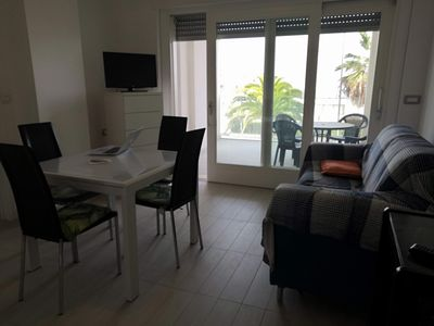 Photo for Sea Front Apartment with Parking