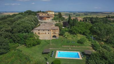 Photo for VILLA and FARM OF RADI SIENA TUSCANY CHARMING APT OCA 2/3 AIR COND WIFI POOL