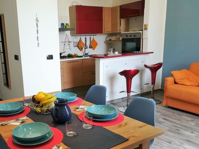 Photo for Lovely apartment for 4 guests with WIFI, A/C