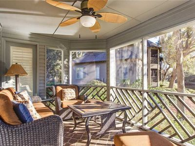 Photo for 5543 Turtle Cove - First Floor Villa Just a Short Walk to Beach! Screened Porch with Lagoon Views.