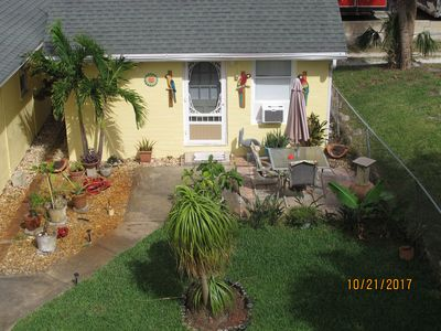 Photo for Updated Studio Cottage For One Or Two Guests Steps from the Beach