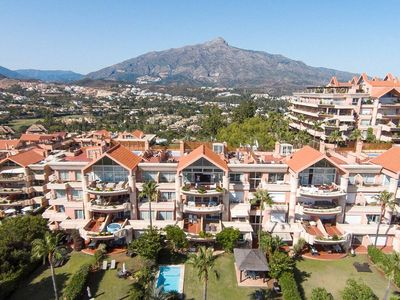 Photo for HEATED ROOFTOP POOL PENTHOUSE VIEWS MAGNA MARBELLA