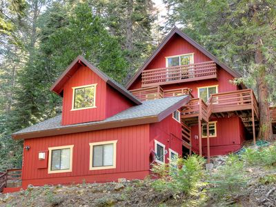 Photo for Perched high in the Pines of Yosemite, enjoyment, and relaxation awaits you in this duplex rustic...