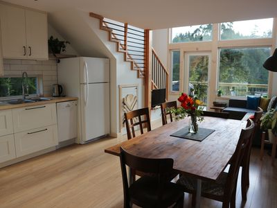 Photo for LE CHALET WATERFRONT RETREAT with view & kitchen