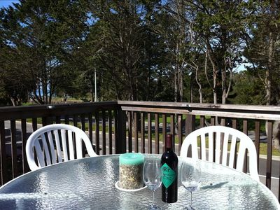 Photo for Westside 3 BR + loft  Overlooks Natural Bridges Beach. Great for Families!