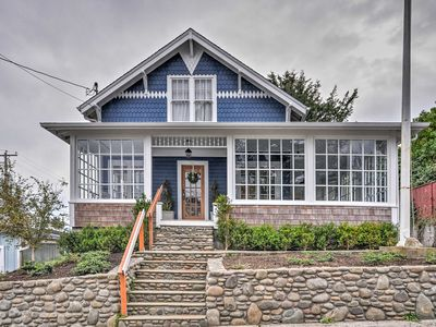 Photo for Historic Seaside Home Steps from Beach & Downtown!