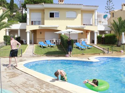 Photo for RENT chalets - 4 rooms - 6/8 persons WITH POOL