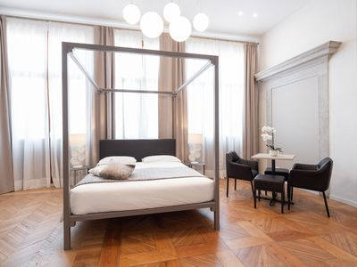 Photo for Room 107 - Hotel Palazzo Martinelli Dolfin - Rent for rooms for 4 people