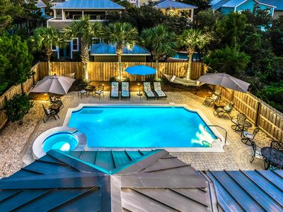Photo for Bahama Breeze 30A Seagrove Beach Vacation Rental with PRIVATE POOL + FREE BIKES!