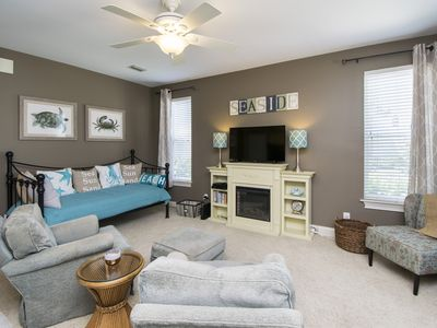 Photo for Small family gem! Pet Friendly! Pool/Grill area! Close to beach! 1st floor Condo