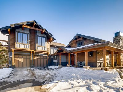Photo for Luxe 3BR/3.5BA w/ Private Hot Tub & Gourmet Kitchen - Near Skiing & Golf