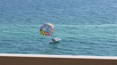 Fun, Fun, and More Fun to be had on the water.  Great watching also from balcony