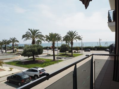 Photo for NINFA. Apartment with balcony perfect for families with children. Sea views.