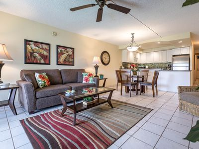Photo for NICELY UPDATED-KAMAOLE SANDS-GROUND FLOOR-LARGE LANAI=WELL EQUIPPED