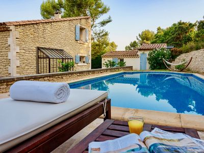 Photo for Luxury villa - Great for family/friends reunion, pool, AC, walk to town
