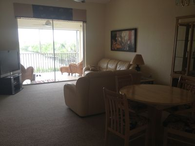 Photo for Beautiful waterfront condo in Port of the Islands