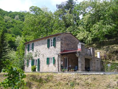 "Photo for A True ""get away from it all"" cottage close to Lucca"